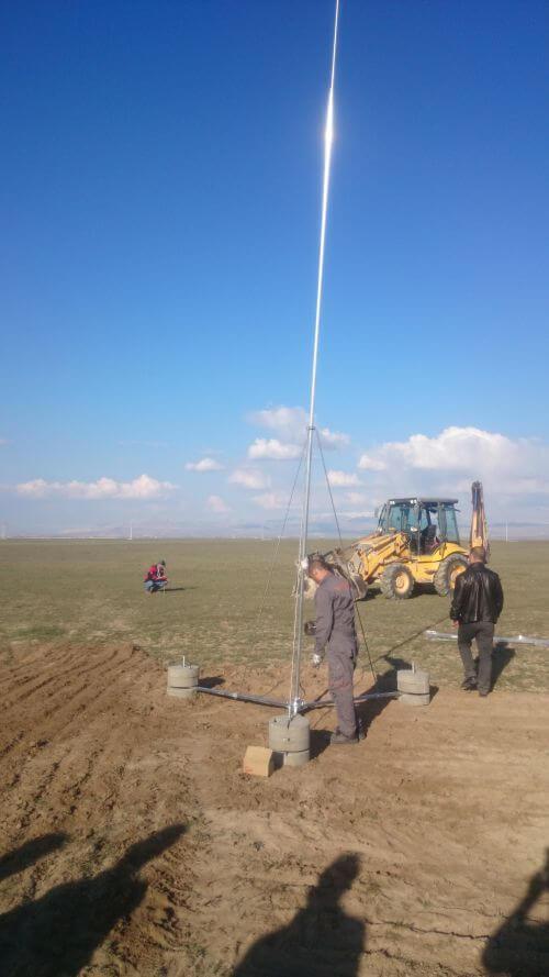 Dış yıldırımlık koruma sistemleri güneş santrali uygulaması