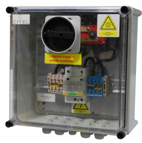Citel solar combiner box