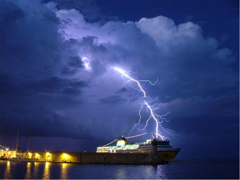 Gemi, Tekne ve Yatların Yıldırımdan Korunması