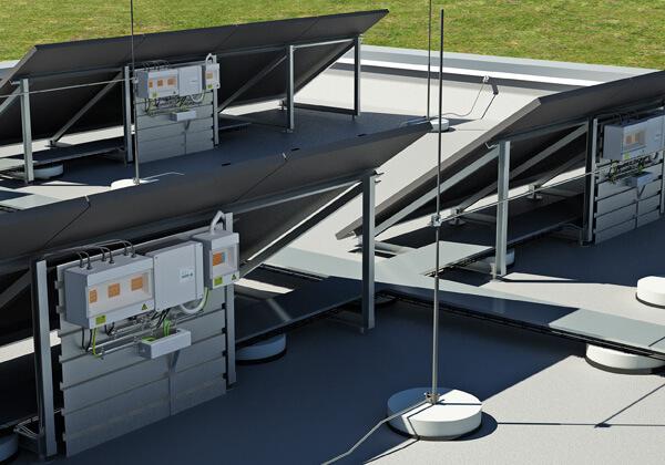 Pasif yakalama uçları ile tesislerin standartlara göre korunmalıdır.