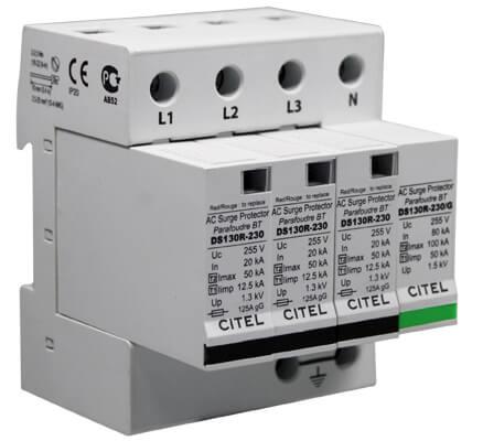 IEC 62305'e göre iç yıldırımlık parafudr sistemleri ile de tesisimiz koruma altına alınmalıdır.