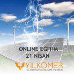 Onlıne Eğitim: Rüzgar ve Güneş Enerji Santrallerine Yıldırımı Nasıl Kontrol Altına Alabiliriz!