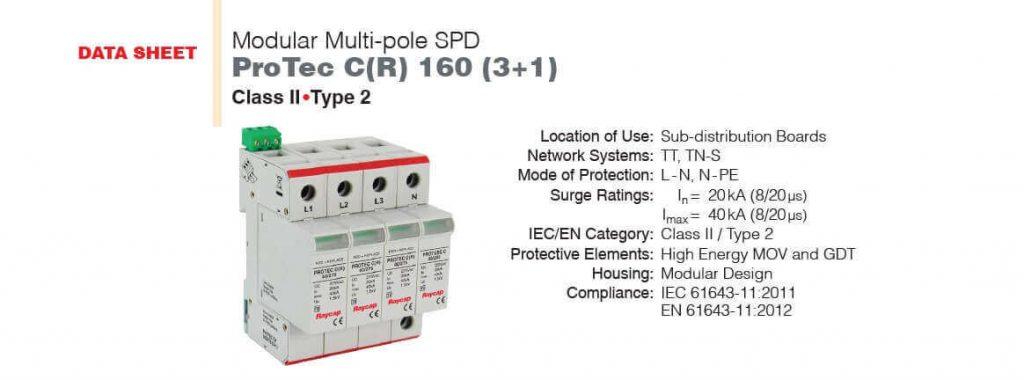 Tali Besleme Panolarında Protec CR serisi kullanılabilir