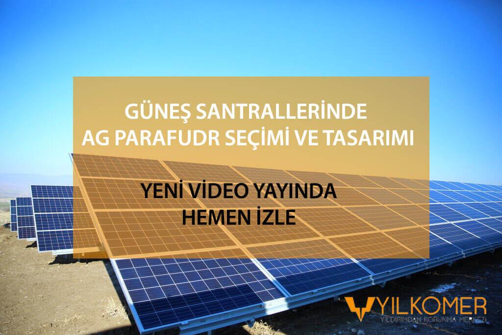 güneş santrallerinde ag parafudr seçimi tasarımı