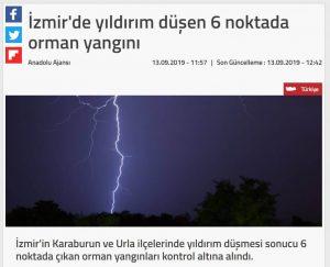 İzmir'e Yıldırım Dülmesi