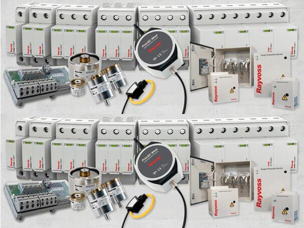 AlCak gerilim parafudr sistemleri