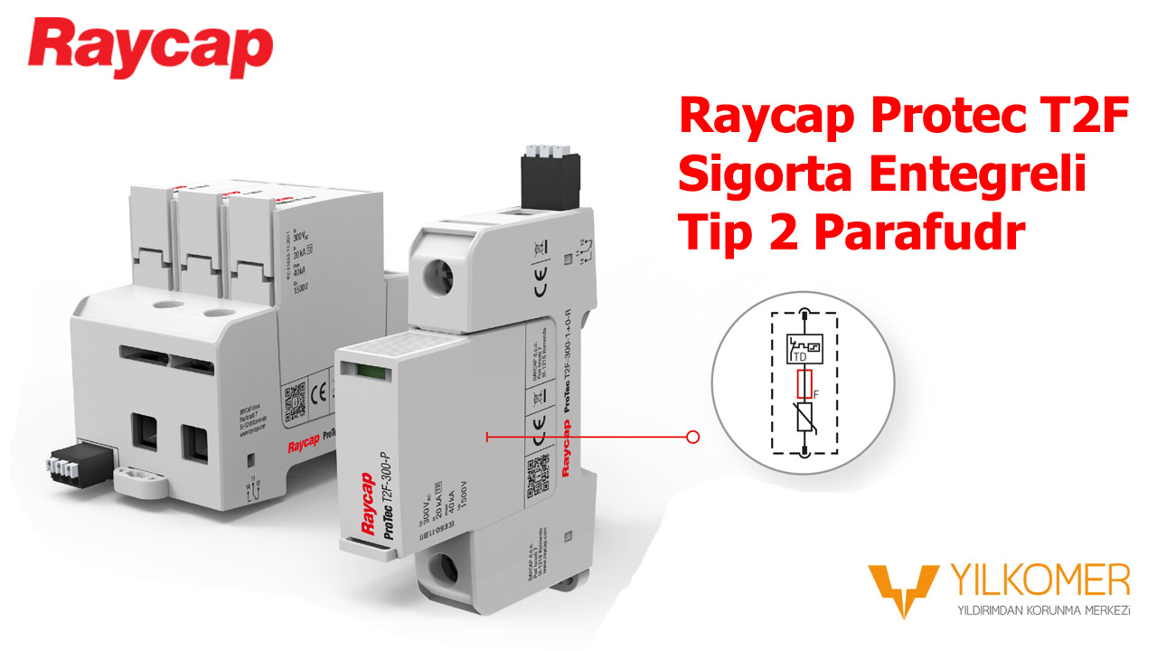 Raycap Protec T2F AG Parafudr