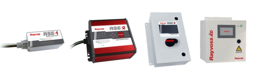 raycap RSE1 ,RSE 2 ve RSE 3